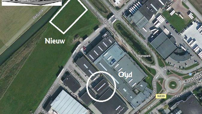 Ligging GPI Oud En Nieuw